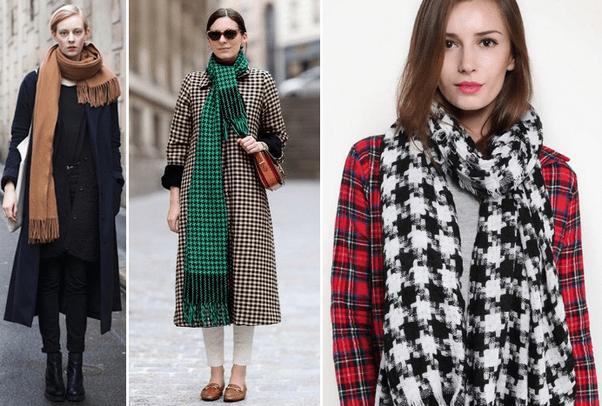Модные шарфы осень зима 2016 2017