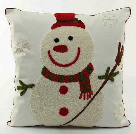 Новогодние подушки своими руками