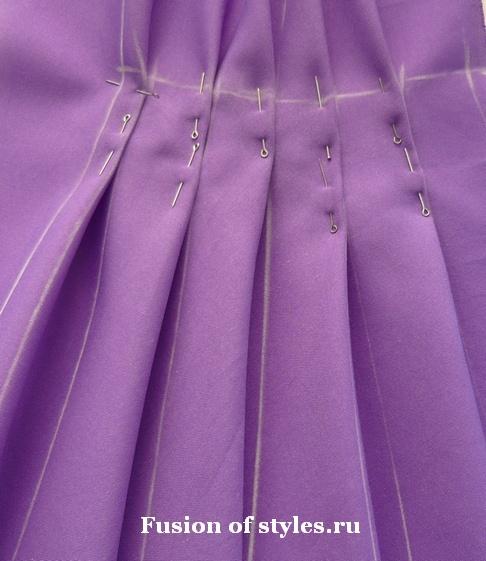 Виды складок на одежде