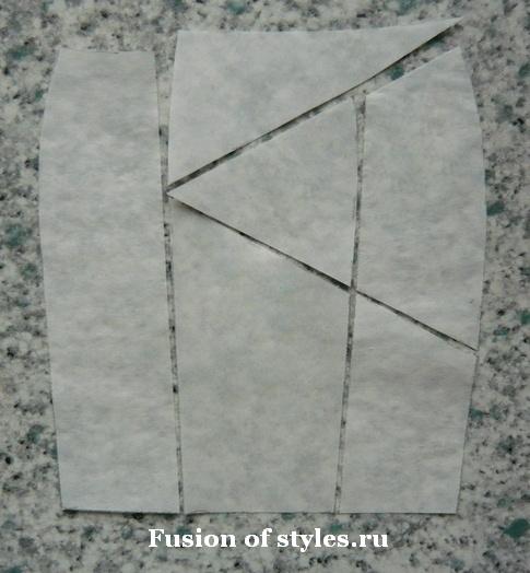 Моделирование юбки карандаш с воланом