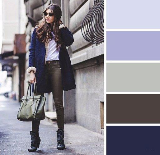 Серый цвет в одежде. Универсальные вещи в женском гардеробе