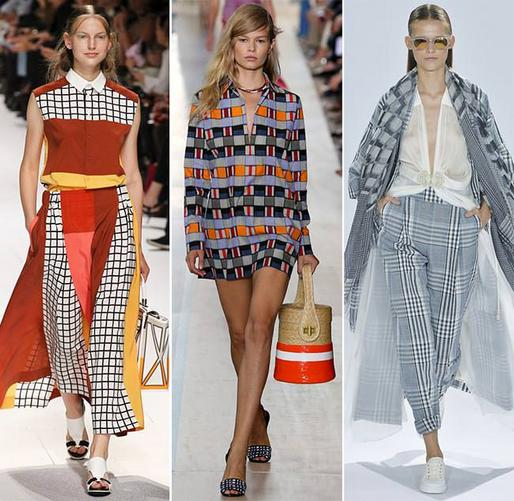 Модная геометрия в мире принтов