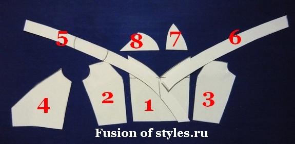 Моделирование нарядного платья с пышной юбкой