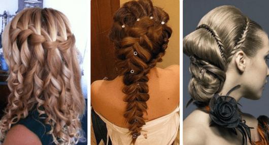Причёски на Новый год Огненного петуха 2017