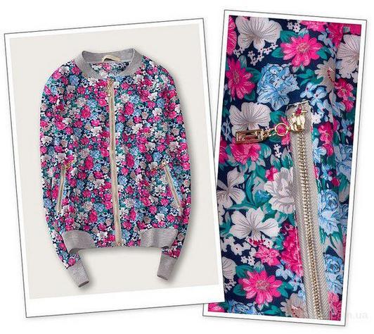 Цветочный принт мильфлёр в современном гардеробе