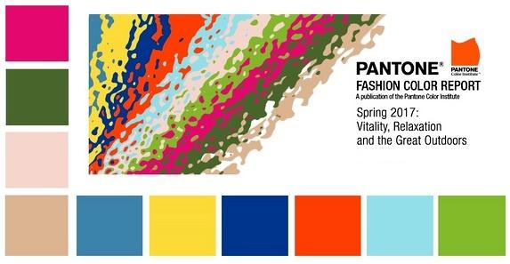 Модные цвета весна лето 2017 года