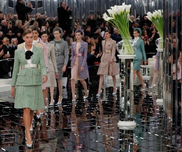 Коллекция Chanel весна лето 2017 года