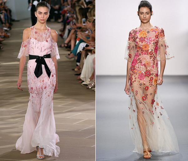 Прозрачные платье картинки