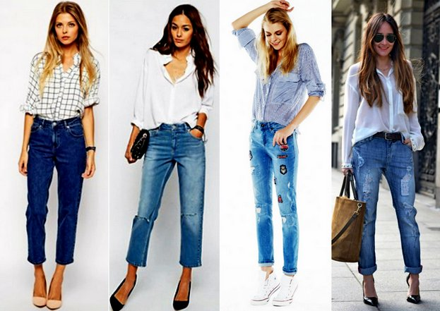 Джинсы – бойфренды в модном женском гардеробе